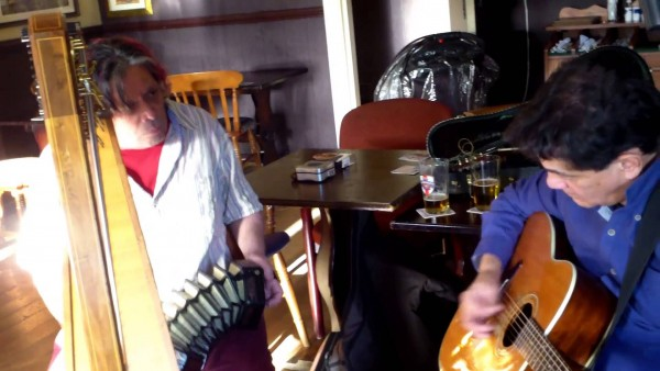 Jack Shuttleworth and George Van Ristell : In session